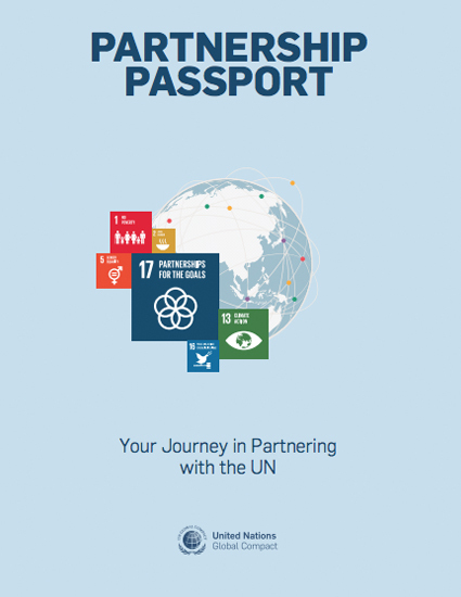 Partnership Passport Your Journey in Partnering with the UN